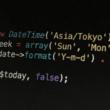 PHPで日付や曜日の取得と表示や改行コードの使い方