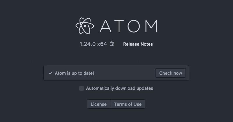 Atomエディタの手動アップデート05
