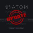 Atomエディタの自動/手動アップデートの切り替えと手動アップデート方法