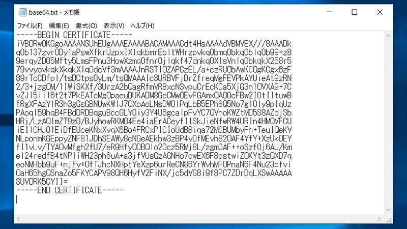 画像をBase64にエンコード(変換)09