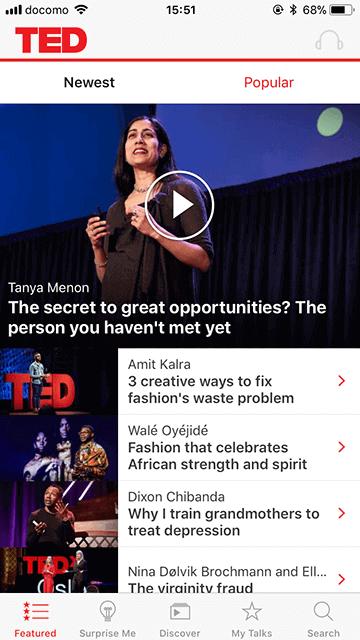 TED動画でトークを聴く01