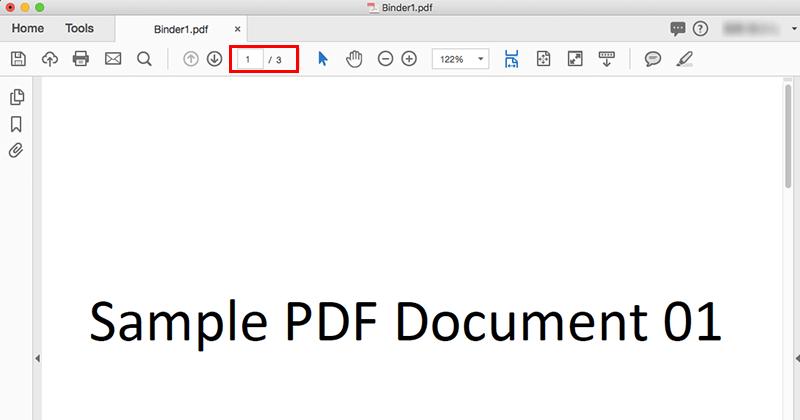 Acrobat DCで複数のPDFファイルを結合05