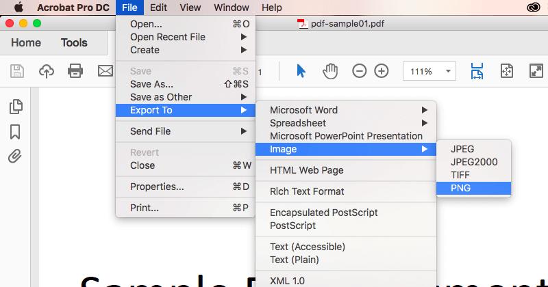 Adobe Acrobat DCで変換05