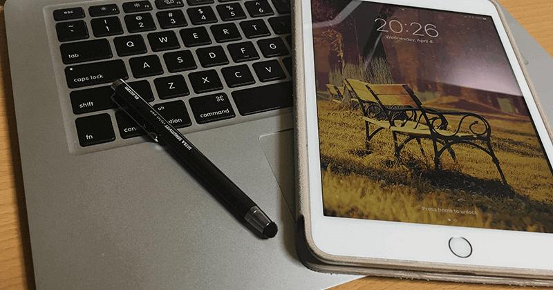 iPhoneやiPad、Androidで使える超高感度タイプのスタイラスペン(タッチペン)01