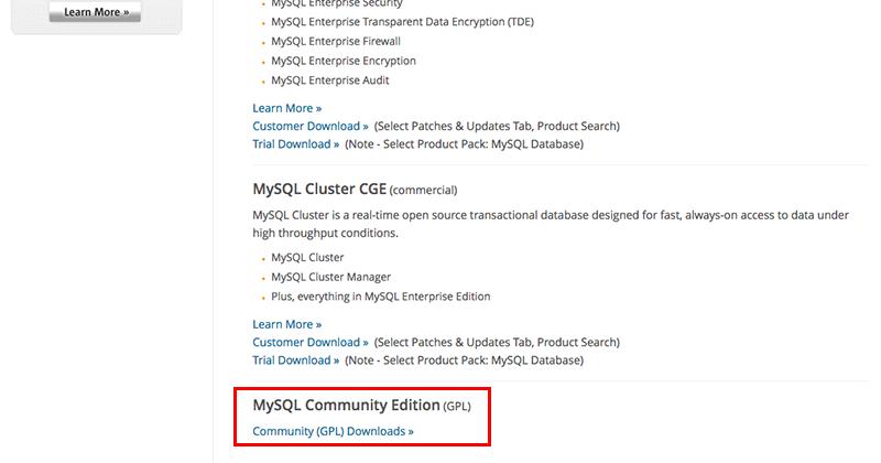 MacにMySQLをインストール02
