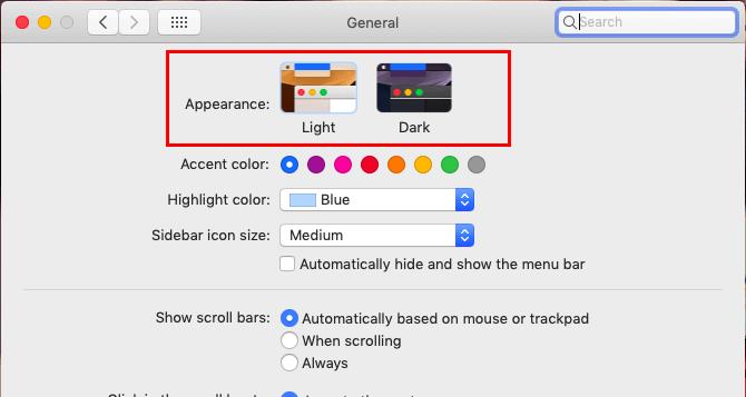 macOSのダークモード設定02