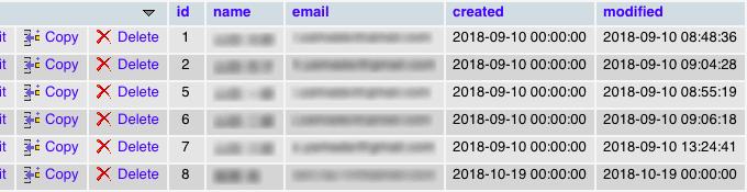 データベースのDATETIME型