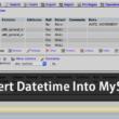JSPでMySQLのデータベースにINSERT文で日付型を追加する時の注意点