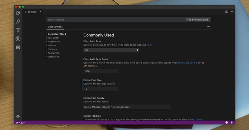 Visual Studio Codeで最初に設定しておきたい項目