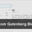 WordPressのプラグインBlock LabでGutenbergのカスタムブロックを作成