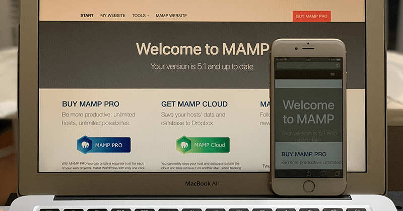 Macのローカル開発環境で作成しているWebサイトを他のデバイスから確認する方法