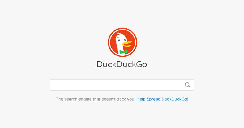 プライバシー保護に特化した検索エンジン「DuckDuckGo」の利用