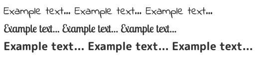 font-faceでのGoogle Fontsの利用