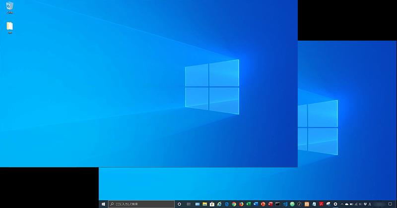 Windows PCのタスクバーの表示・非表示