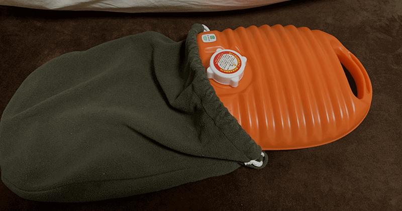 寒い冬は湯たんぽと腹巻を活用してコンディションを整える