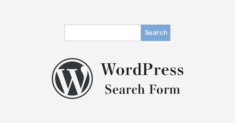 WordPressで独自のデザインの検索フォームを設置する方法