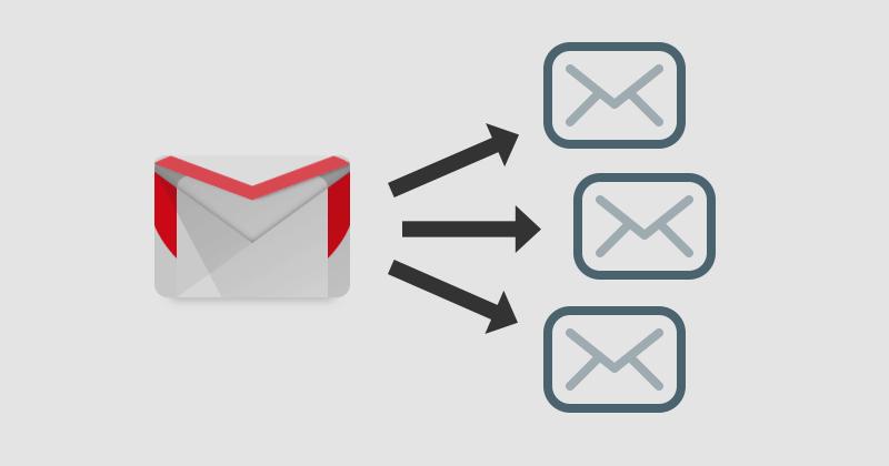 Gmailで特定のメールを複数のアドレスに自動転送する方法