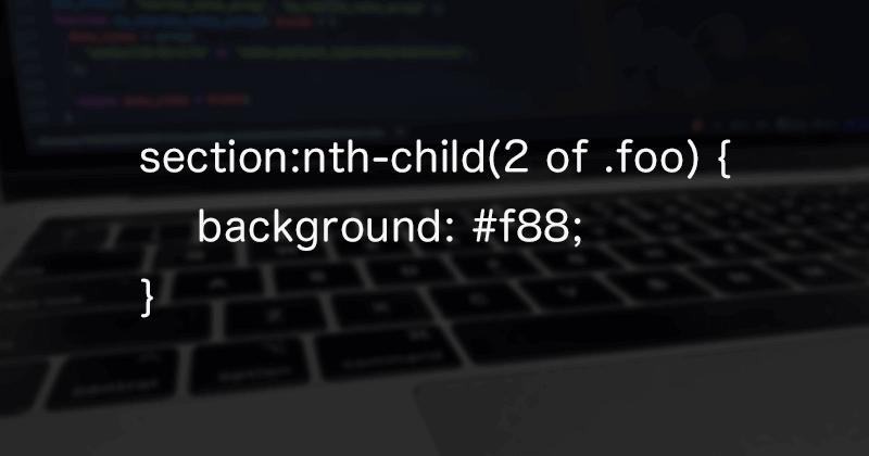 CSSのnth-child擬似クラスでclassを含んだ指定方法