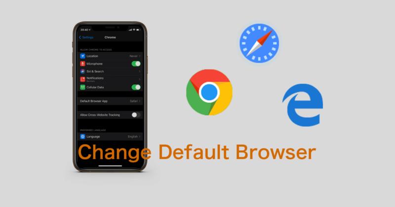 iPhoneやiPadのデフォルトブラウザをSafariから変更する