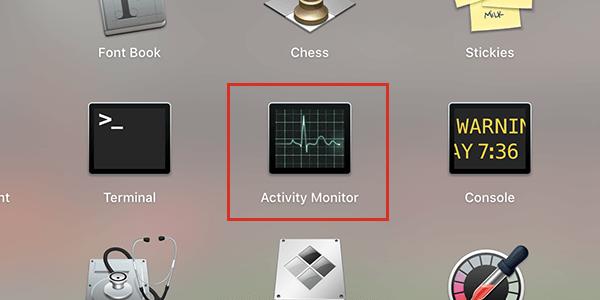 macOSのActivity Monitor(アクティビティモニタ)
