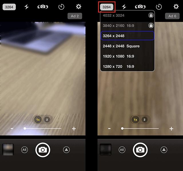 高画質カメラアプリ「StageCameraHD」
