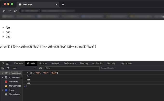 PHPの変数の値をJavaScriptに渡して処理をするプログラム