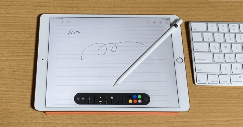 iPadのメモアプリを手書きの学習ノートとして使う